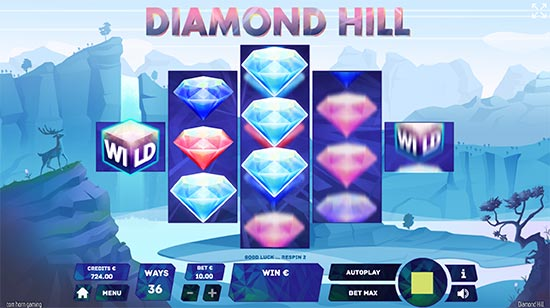 Diamond Hill slot by Tom Horn Gaming.
