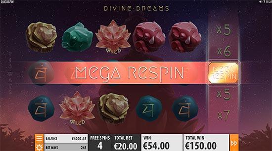 Divine Dreams slot by Quickspin.