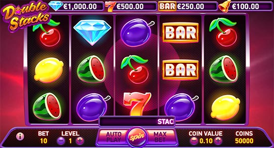 Double Stacks slot by NetEnt.