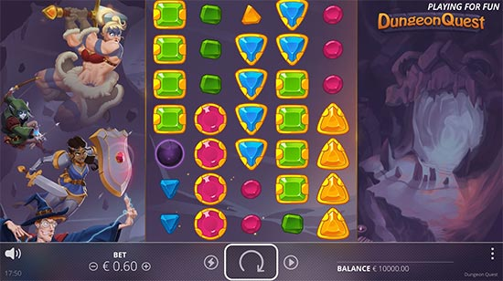 Dungeon Quest slot by No Limit City.