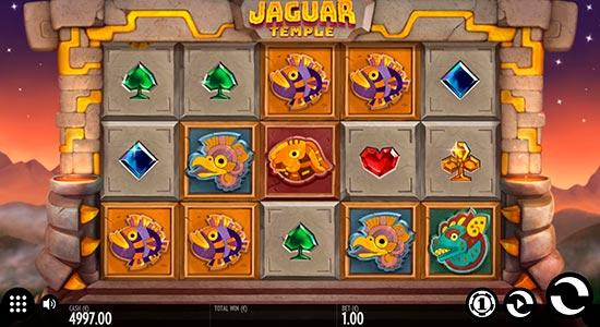 Jaguar Temple slot by Thunderkick.