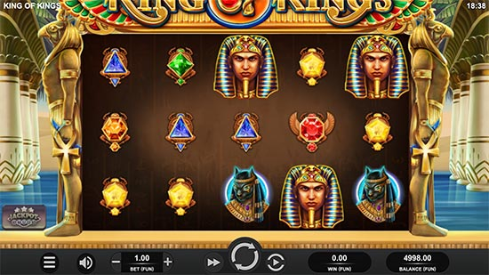 King of Kings slot by Relax Gaming.