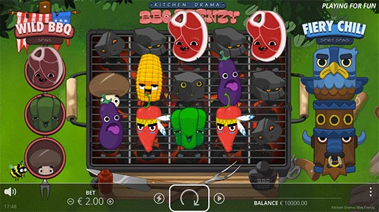 Kitchen Drama: BBQ Frenzy slot by No Limit City.