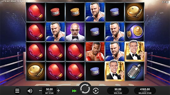 Let's Get Ready to Rumble slot by Relax Gaming.