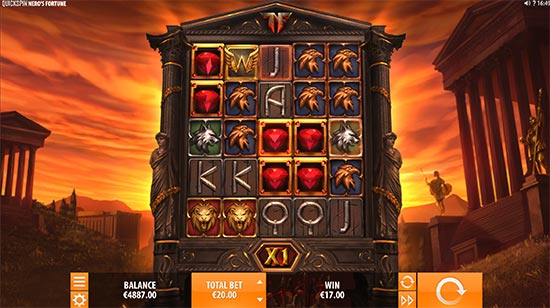 Nero's Fortune slot by Quickspin.