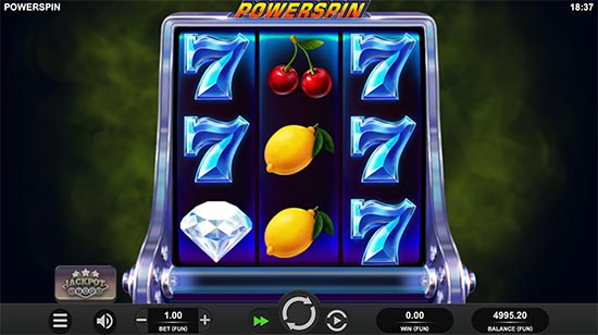 Powerspin slot by Relax Gaming.
