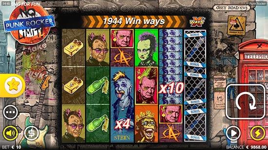 Punk Rocker slot by Nolimit City.