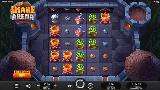 Snake Arena slot by Relax Gaming.