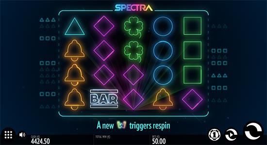 Spectra slot by Thunderkick.
