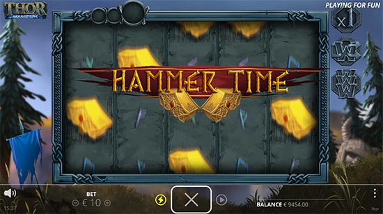 Thor: Hammer Time slot by No Limit City.