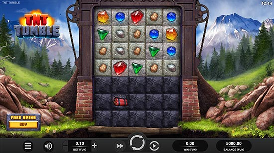 TNT Tumble slot by Relax Gaming.