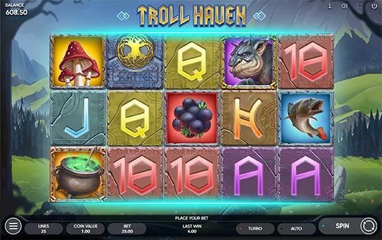 Troll Haven slot by Endorphina.