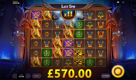 Vault of Anubis slot by Red Tiger Gaming.