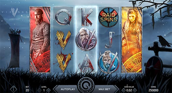 Official Vikings slot by NetEnt.