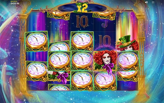 The Wild Hatter slot by Red Tiger Gaming.