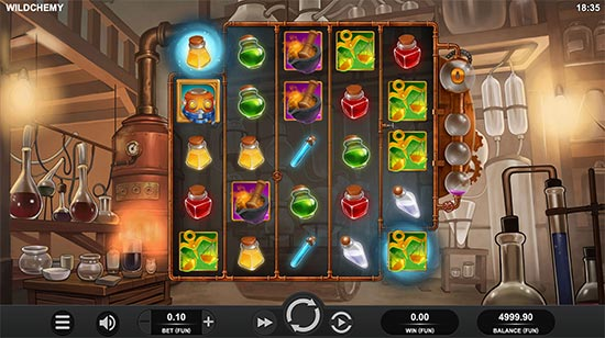 Wildchemy slot by Relax Gaming.