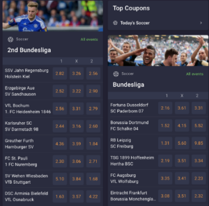 Bet on live soccer action with Cloudbet