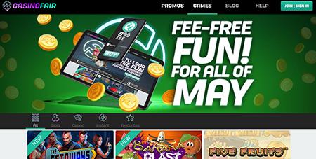 casino fair homepage