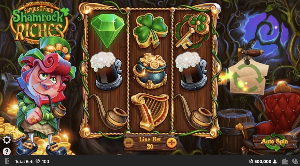 CasinoFair Shamrock Riches Slot