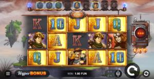 Play Sky Hunters slot in Bitcoin at leading Bitcoin casinos!
