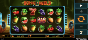 Play Sonic Reels slot from Wazdan at the best Bitcoin casinos