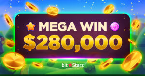 There has been another big win at BitStarz worth $280,000!
