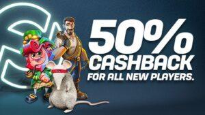 CasinoFair has update its welcome bonus to drop the lucky dip