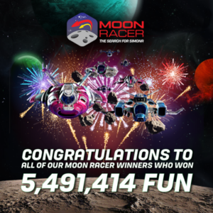 Moon Racer- The Search for Simona has ended at CasinoFair
