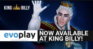 Evoplay Entertainment is now live at King Billy - are you playing?