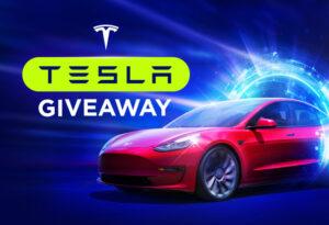 Win a Telsa Model 3 at BitStarz!