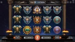 Fire Lightning is the go-to Bitcoin slot if you love big wins and epic art!
