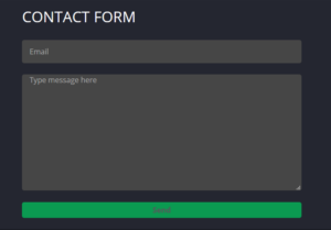 Betflip.io contact form