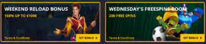 Betflip.io weekly bonuses