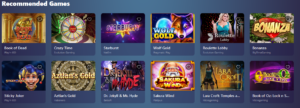 Casinoin recommended games