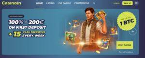 Casinoin welcome package