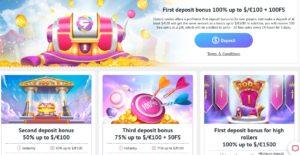Slotum Casino Bonuses