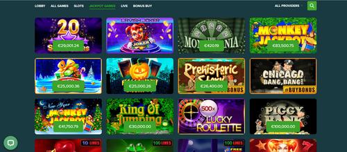 Abo Casino Jackpot games