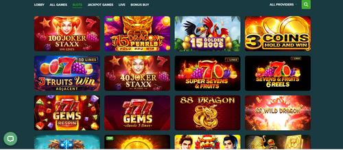Abo Casino slots