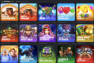 Bc.game casino game section