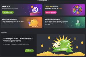 Bc.game casino other bonuses