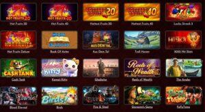 Coinbet24 slots selection