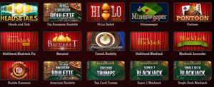 Coinbet24 table games