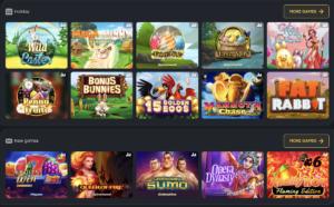 Fairspin casino lobby games