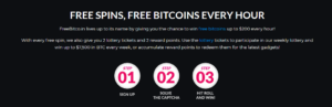 Freebitcoin free spins every hour