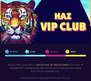 Haz casino VIP club