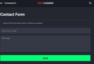 Joo casino contact info