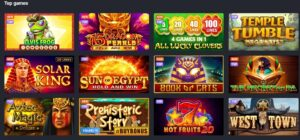 Joo casino top games page