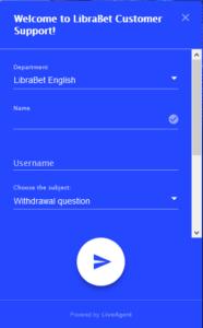 Librabet customer service