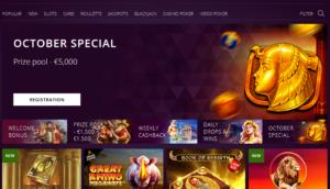 Malina casino specials