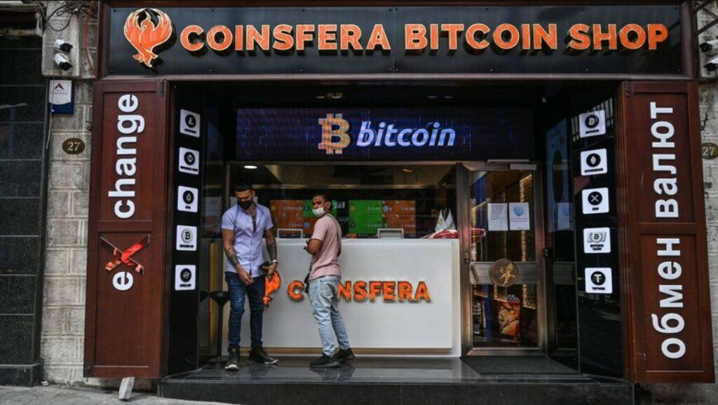 Bitcoin store in Turkey